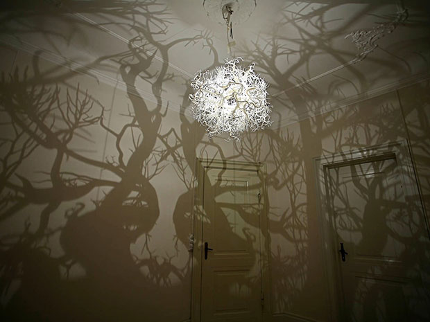 Forms in Nature โคมไฟ เงาในป่า
