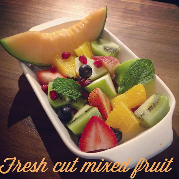 Fresh cut mixed fruit