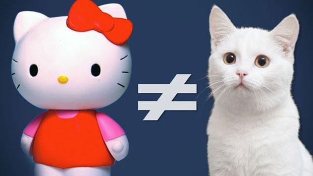 Hello Kitty ไม่ใช่แมว