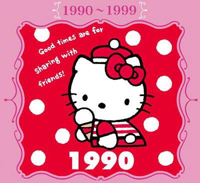 Hello Kitty 1990