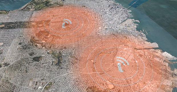 Iota GPS ติดตามตัว พื้นที่ครอบคลุม