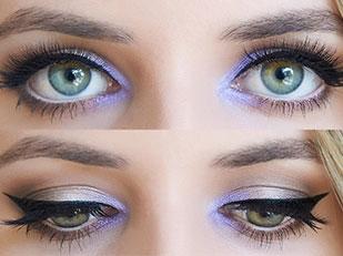 Lavender Eye Make Up