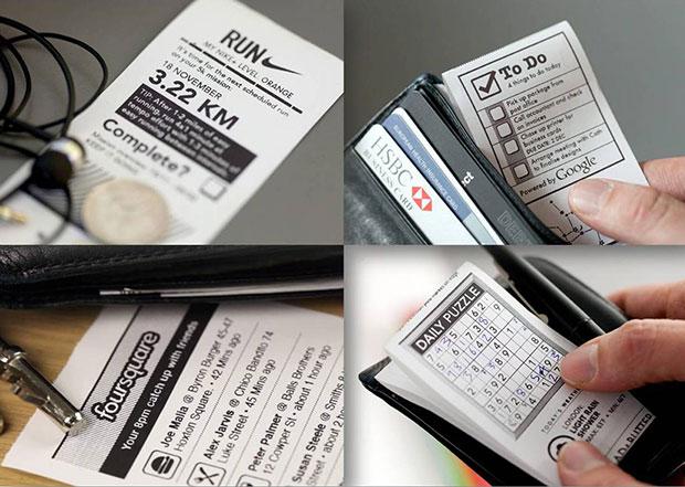 Little Printer พิพม์ขนาดใบเสร็จรับเงิน