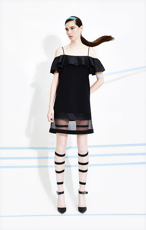 Marihorn - Claudia Dress - เดรสแฟชั่น สีดำ