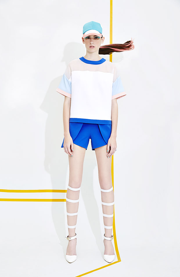 Marihorn - Taylor Top, Lena Sky Pants - เสื้อผ้าแฟชั่น