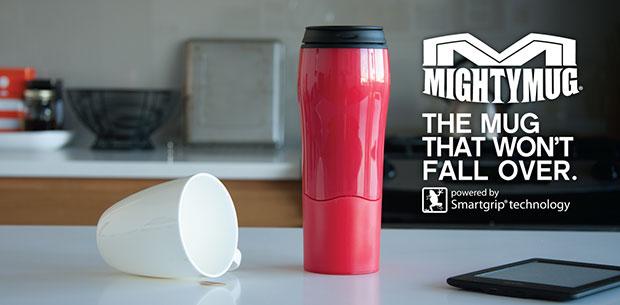 Mighty Mug แก้วกาแฟไม่มีวันล้ม