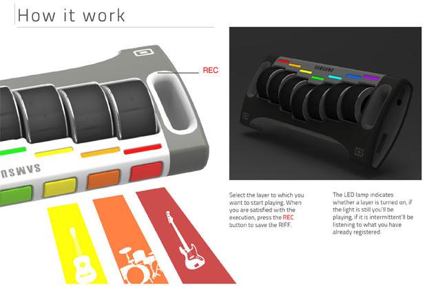 MoovBox บันทึกเสียง, ไฟ LED บอกสถานะ