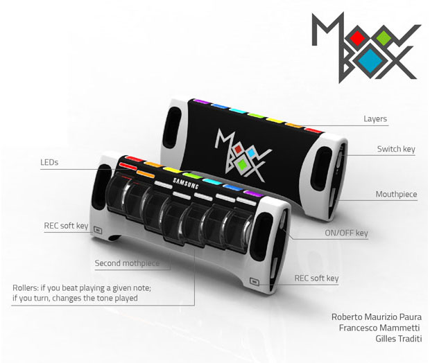 MoovBox - เครื่องดนตรี