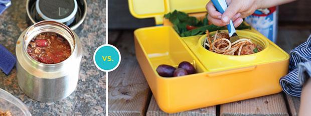 OmieBox กล่องข้าวสำหรับเด็ก มีช่องอาหารที่หกได้
