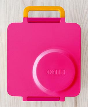 OmieBox กล่องข้าวสำหรับเด็ก สีชมพู