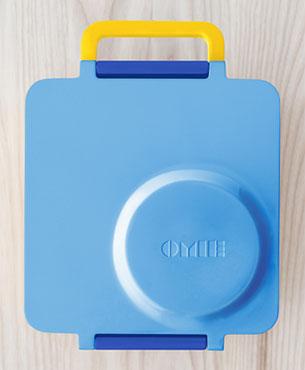 OmieBox กล่องข้าวสำหรับเด็ก สีฟ้า