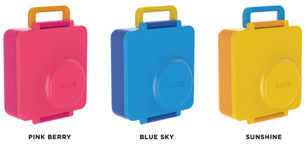 OmieBox กล่องข้าวสำหรับเด็ก สี