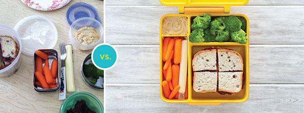 OmieBox กล่องข้าวสำหรับเด็ก แบ่งเป็นสัดส่วน