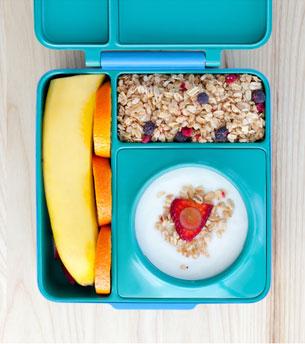 OmieBox กล่องข้าวสำหรับเด็ก ใส่กล้วย
