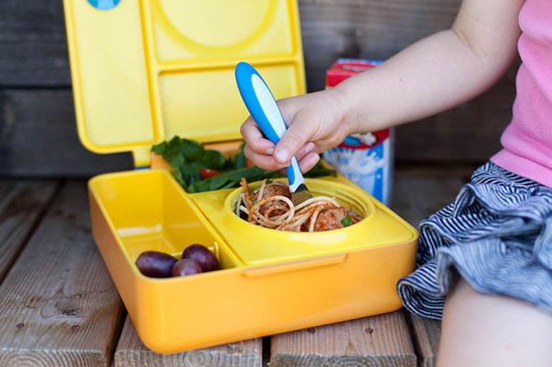 OmieBox กล่องข้าวสำหรับเด็ก ใส่อาหารทที่เป็นน้ำได้
