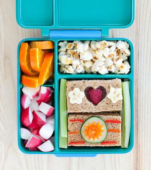 OmieBox กล่องข้าวสำหรับเด็ก ใส่แซนวิช