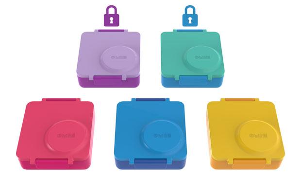 OmieBox กล่องอาหารสำหรับเด็ก สี