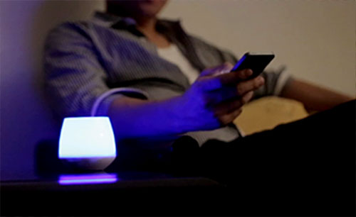 PlayBulb โคมไฟ ควบคุมด้วยมือถือ