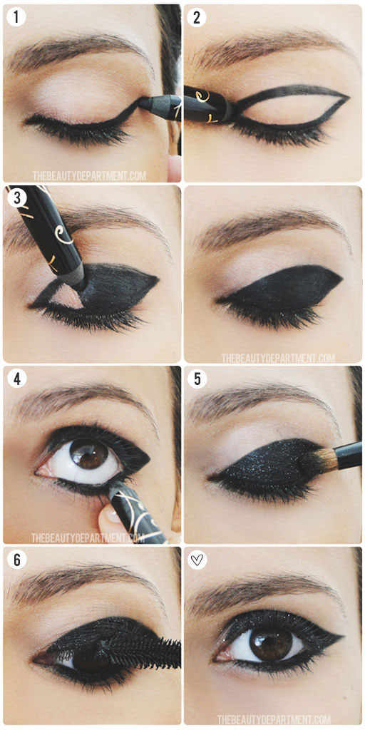 Red Carpet Breakdown Eye Makeup