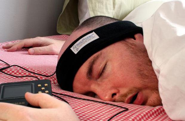 SleepPhones ผ้าคาดศีรษะ หูฟัง