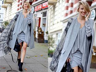 กระโปรง Y.A.S, เสื้อคลุม Vero Moda, เสื้อ Zara, รองเท้าบู้ท Zara, กระเป๋า Zara, ผ้าพันคอ Zara