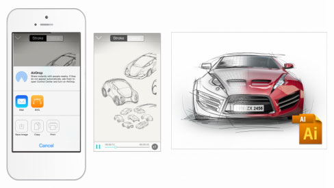 ปากกา Neo Smartpen N2 Export Adobe Illustrator
