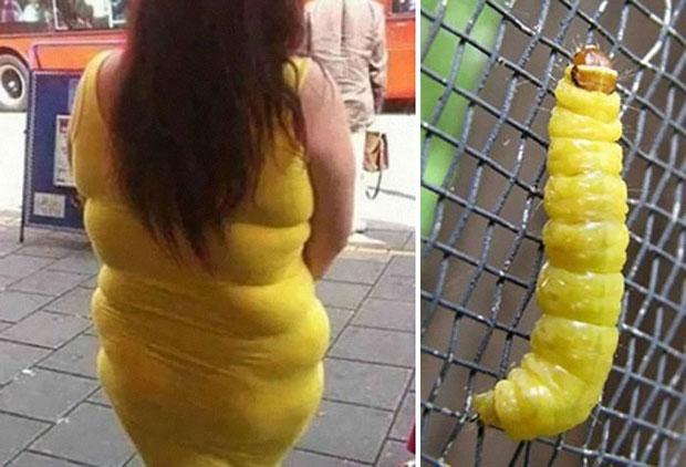 ภาพเหมือน ชุดเดรสเหลือง หมอนเหลือง