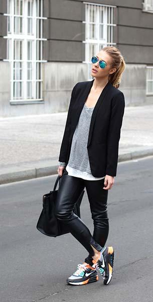 รองเท้า Nike Airmax กางเกง Zara เสื้อคลุม HM เสื้อ HM สเว็ตเตอร์ Brandy Melville กระเป๋า Celine แว่นตากันแดด Ray Ban
