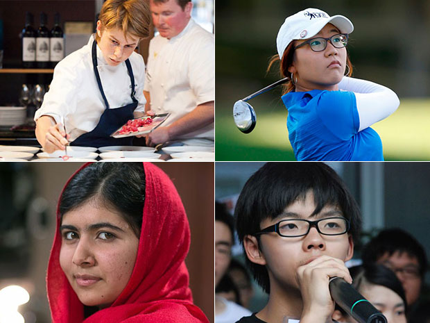 วัยรุ่นที่ทรงอิทธิพลมากที่สุดในโลกประจำปี 2014