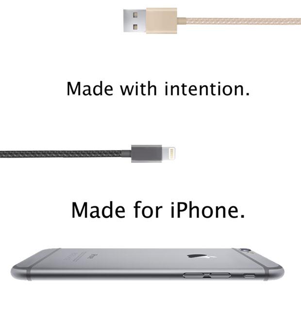 สายชาร์จ Reversible USB สำหรับ iPhone