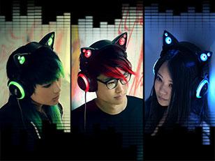 หูฟัง หูแมว Axent Headphones