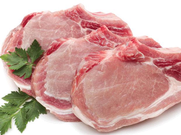 อาหารไบโอตินสูง เนื้อหมู