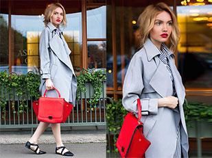 เสื้อโค้ท Choies, เดรส Romwe, รองเท้า Asos, กระเป๋า Love Republic