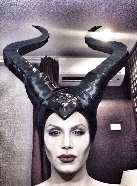 แต่งหน้า Angelina Jolie Maleficent