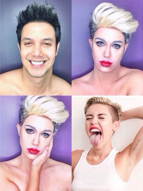 Makeup Transformations Miley Cyrus