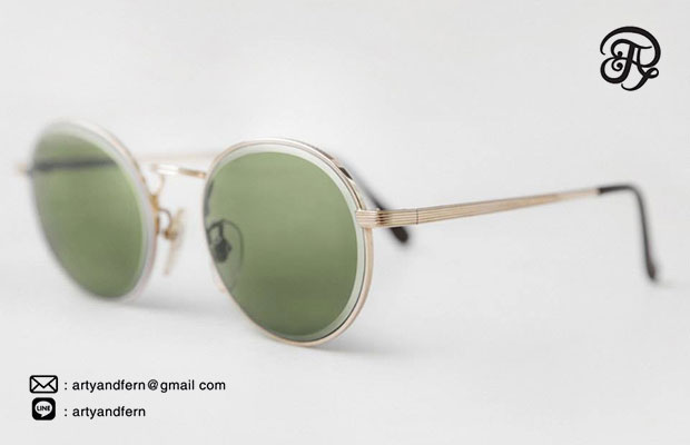 แว่นตาเลนส์สีเขียว