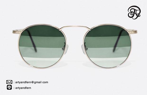 แว่นตาเลนส์ไล่สี สีเขียว