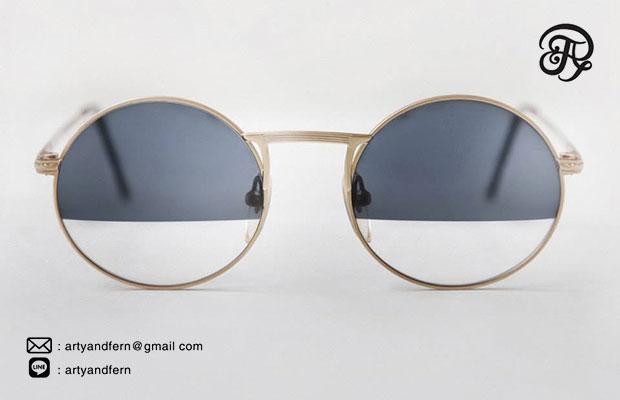 แว่นตา เลนส์ใส เลนส์ฟ้า