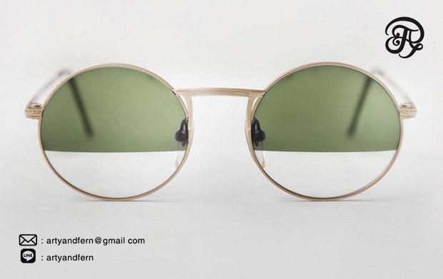 แว่นตา เลนส์ใส เลนส์เขียว