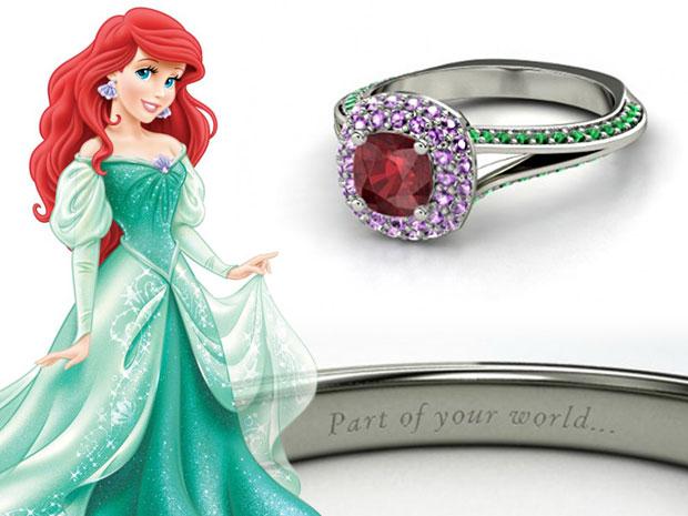 แหวนหมั้น Ariel