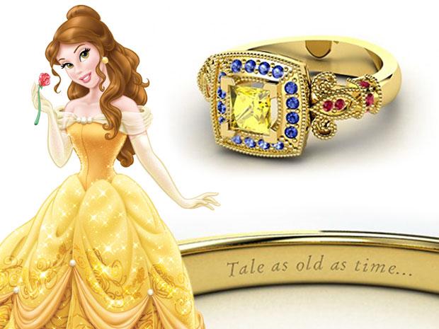 แหวนหมั้น Belle