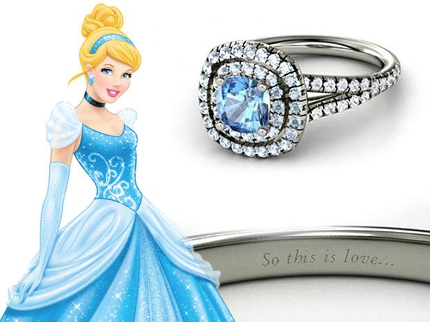 แหวนหมั้น Cinderella