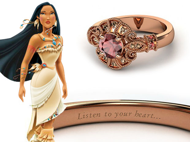 แหวนหมั้น Pocahontas