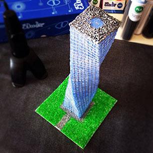 3Doodler ปากกาวาดรูป 3 มิติ ตึก