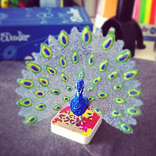 3Doodler ปากกาวาดรูป 3 มิติ นกยูง