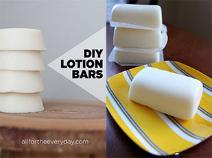 DIY โลชั่นบาร์ Lotion Bar