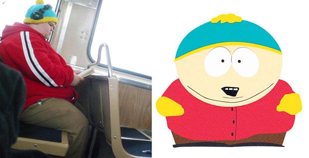 Eric Cartman ตัวจริง
