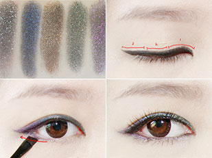 Eyeshadow Makeup Tutorial China