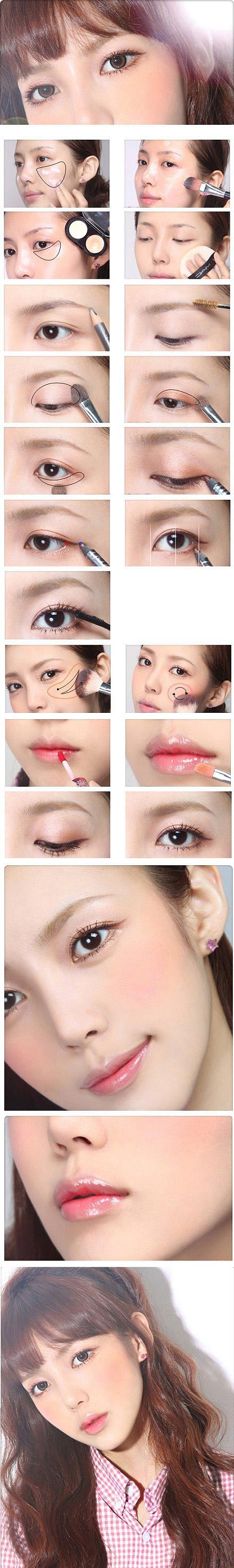step by step makeup tutorial from korea issue247com