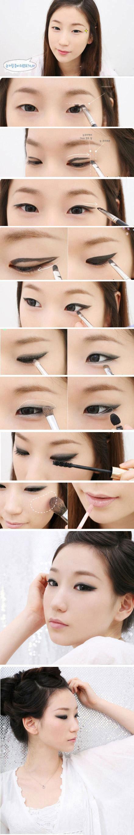 Monolid Eye Make Up